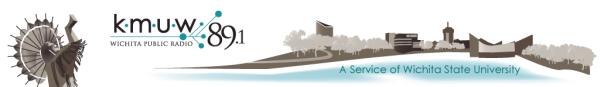 KMUW Wichita NPR logo