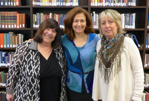 L to R; Rene Florsheim, Julie Kohner and Illana Bloch