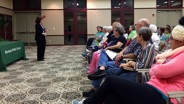 VOG Presentation at Burbank Public Library